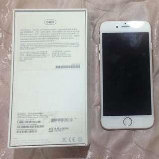 Iphone6 白金 64G 零件機