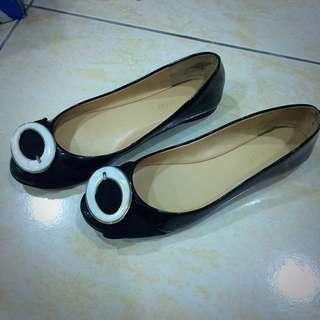 (9成新)nine west 平底鞋 23.5號