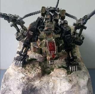 DIORAMA gundam zoids transformers
