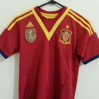 Original Adidas Jersey Spain World Cup 2010