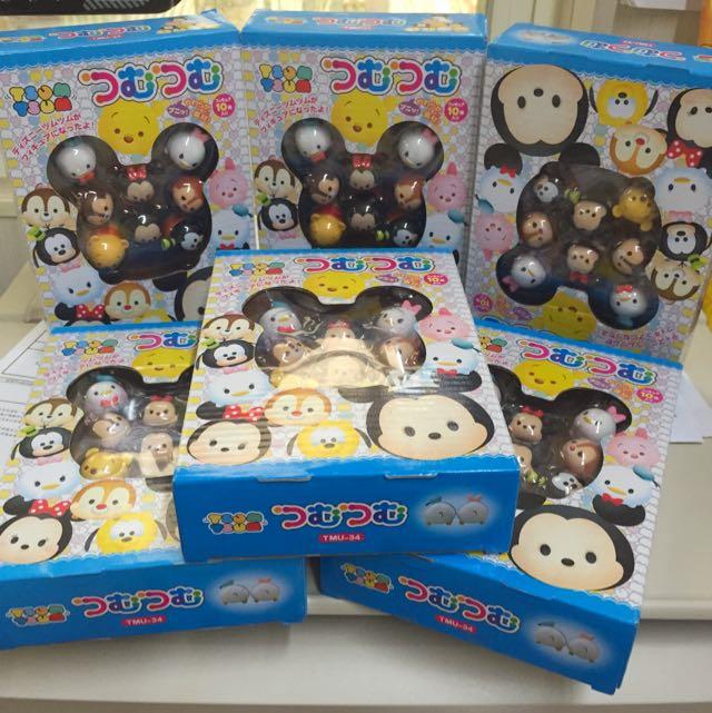/現貨1盒/ 迪士尼 Tsum 可愛疊疊樂 頭像疊疊樂