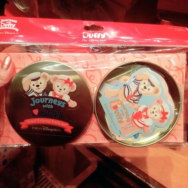 東京海洋迪士尼限定~鐵盒便條紙組