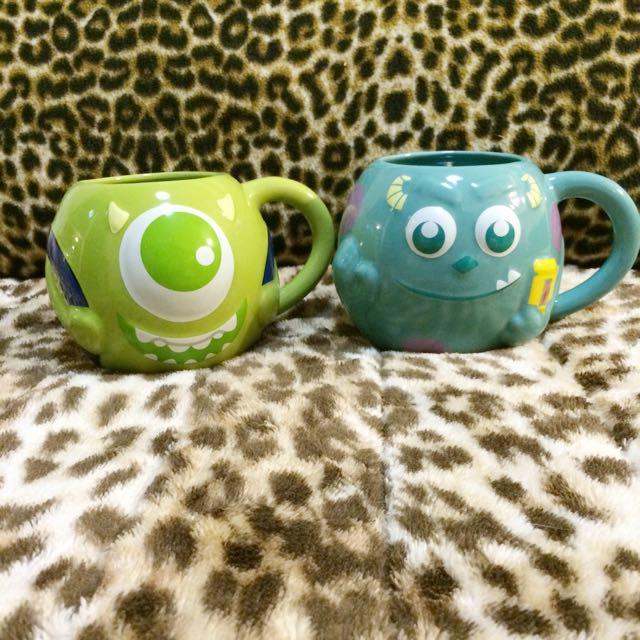 怪獸電力公司-配合全家的瓷杯碗一組