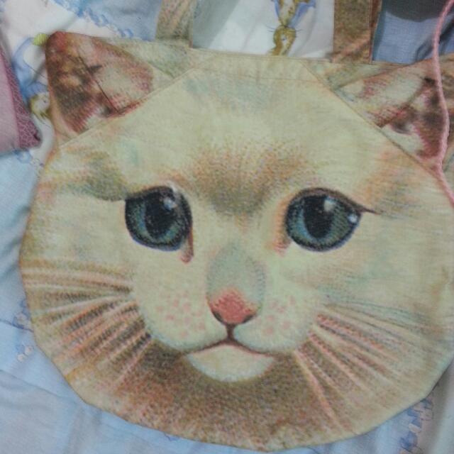 日本雜誌款 貓咪肩背包