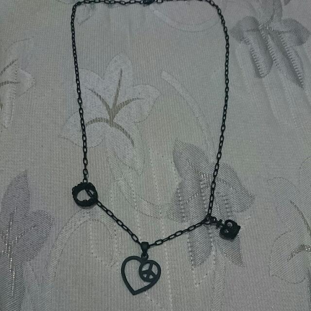 黑色項鍊, 全新, 韓版