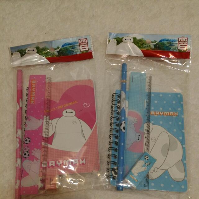 [日本帶回] Big Hero 6 大英雄天團 杯麵文具4件組 送小朋友 小禮物 獎勵專用