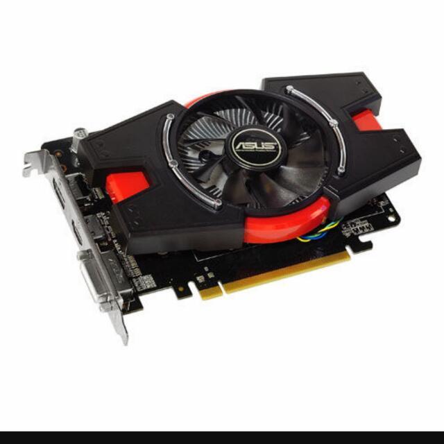 ASUS HD7750 1GD5 顯示卡