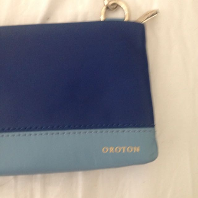 Genuine Oroton blue bag
