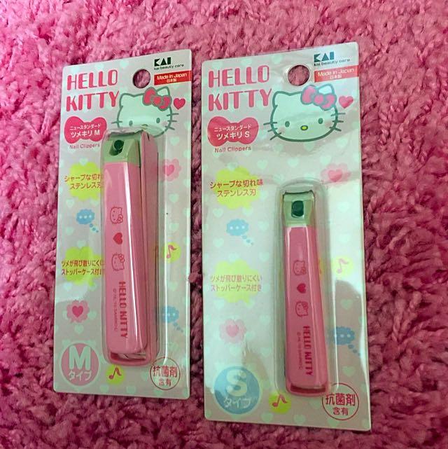日本Hello Kitty不鏽鋼指甲剪