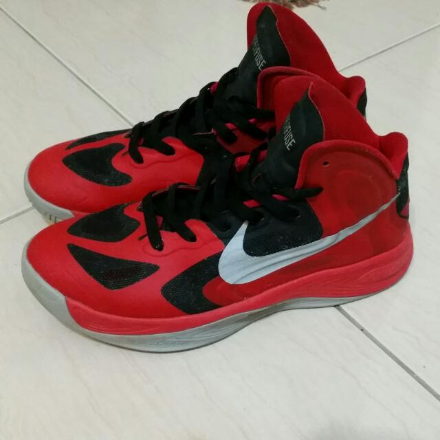 HYPERFUSE NIKE 全紅籃球鞋(降價)