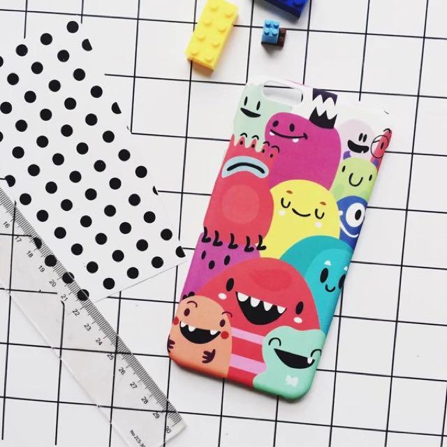 預🌼iphone小怪獸原創手機殼