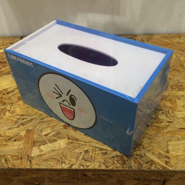 Line 娃娃 面紙盒 衛生紙盒