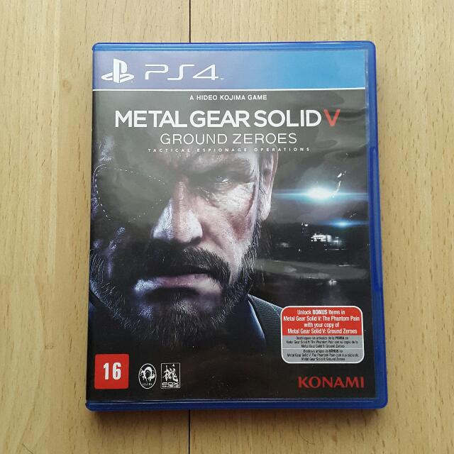 Metal Gear Solid V: Ground Zeroes (PS4/R1)