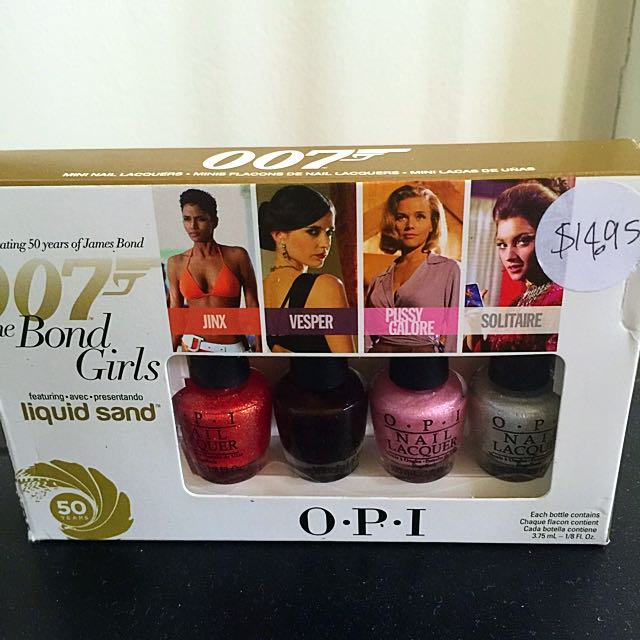 O.P.I 007 Nail polish Collection