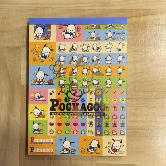 Pochacco Notepad