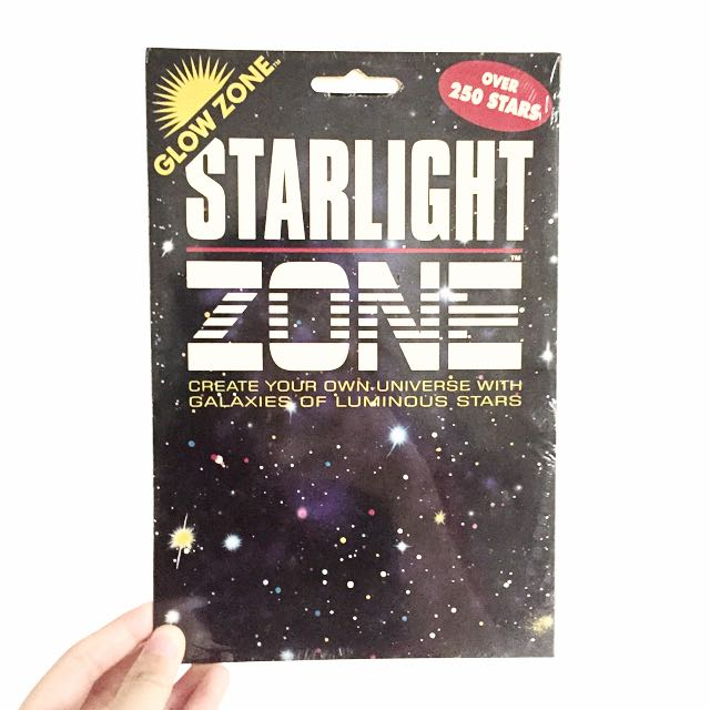 Starlight Zone Glow In The Dark Wall Stickers, Furniture on Carousell