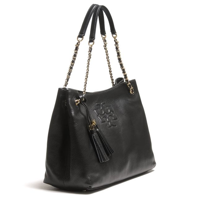 4fbf513aa5da Tory Burch THEA CHAIN SHOULDER SLOUCHY TOTE STYLE NUMBER 22149651 ...