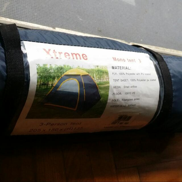 Xtreme 3person  Tent