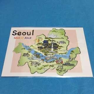 Korea Post Card