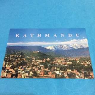 Kathmandu Post Card