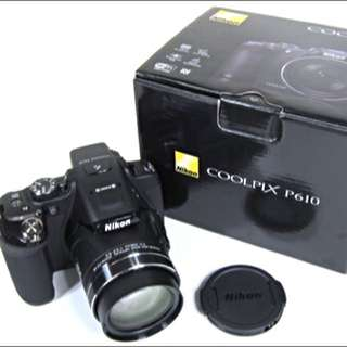 BN Nikon Coolpix P610 (3weeks Old Only)
