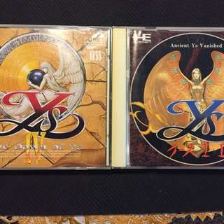 PC Engine- Ys Set