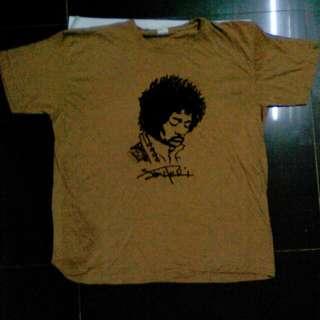 Baju Tshirt Jimmy Hendrix Cun