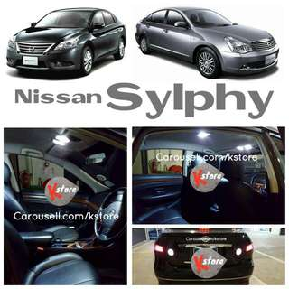 Nissan Sylphy Interior / Exterior LED Bulb Replacements