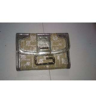 Silver & Gold Womens Guess Purse