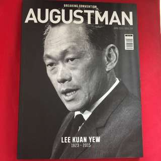 Augustman April 2015 Lee Kuan Yew Special Edition