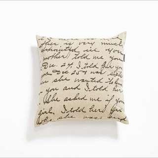 Calligraphy Cushion