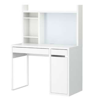 IKEA Micke Workstation Desk (White)