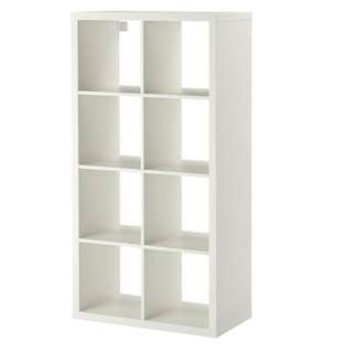 IKEA Kallax Shelving Unit (White) x2