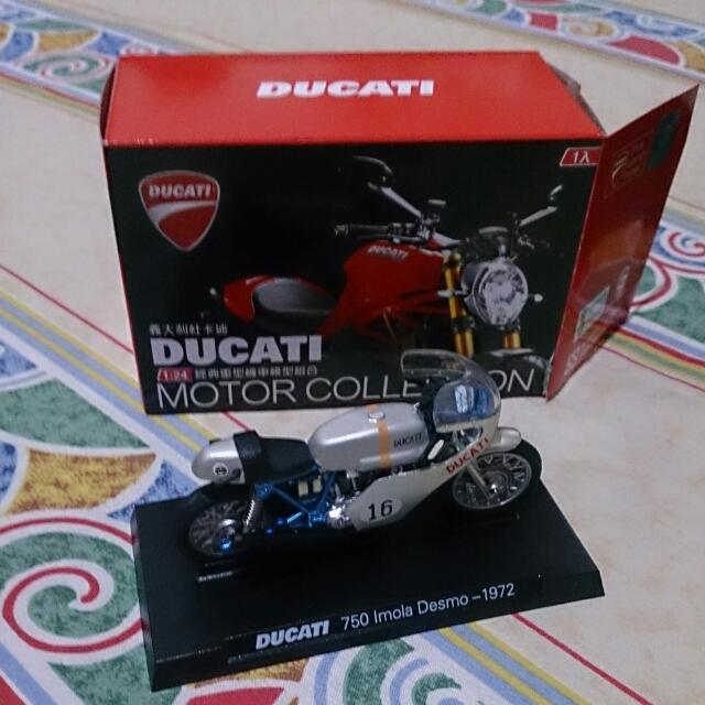 杜卡迪ducati1:24經典重型機車模型組合