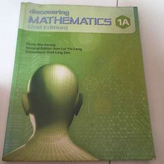Sec 1 Express Mathematic Textbook