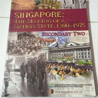 Sec 2 Express History Textbook
