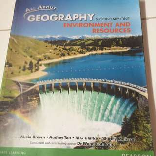 Sec 1 Express Geography Textbook