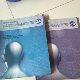 Sec 2 Express Mathematic Textbook