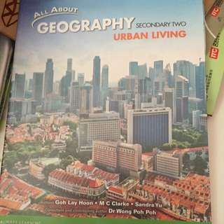 Sec 2 Express Geography Textbook