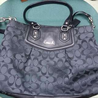 Authentic Coach Ashley Signature bag F19244