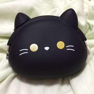🚚[含運]黑貓果凍矽膠零錢包