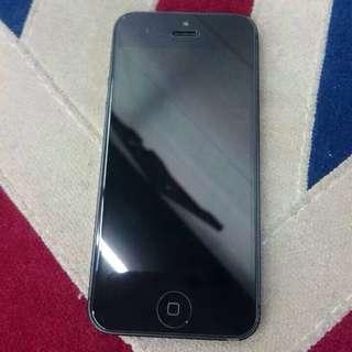 二手 I-phone 5 32G 黑色