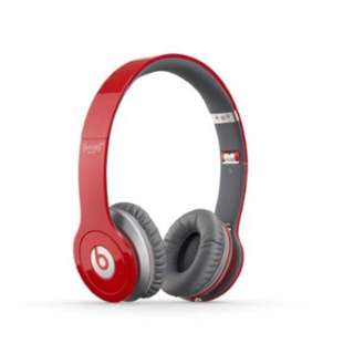 Authentic Beats Solo HD RED Limited Edition On-Ear Headphones (Discontinued by Manufacturer)