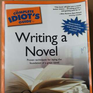 Novel Writing  For  Dummies