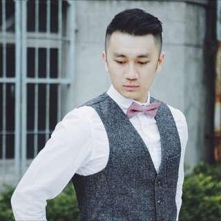 韓國直送 質感紳士背心
