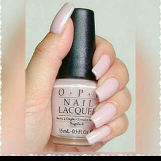 保證正品✋  Opi 裸色指甲油 P05 Let Them eat rice cake