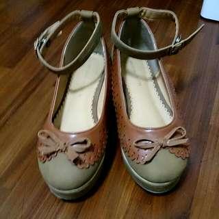 古著短根娃娃鞋