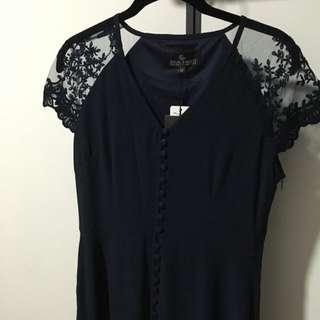 Navy Blue Maxi Dress *Brand New*