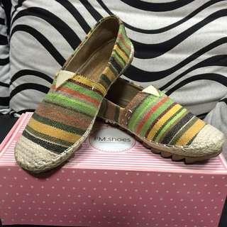 平底條紋鞋