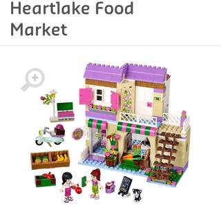 Cheap! Lego Friends Heart Lake Food Market 41108